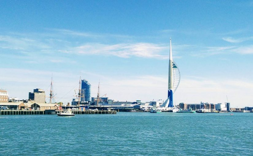Many greetings from Portsmouth!